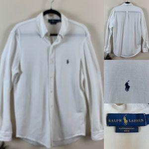 Ralph Lauren Blue Label White Shirt Button Down